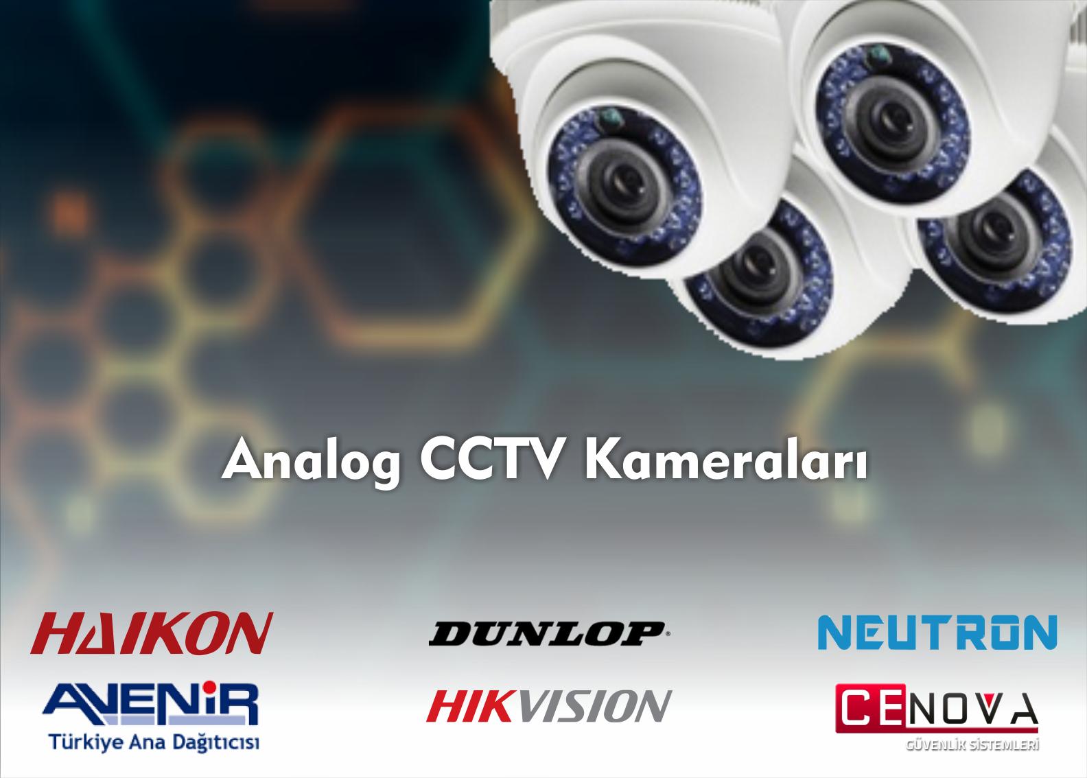 ANALOG CCTV KAMERALARI